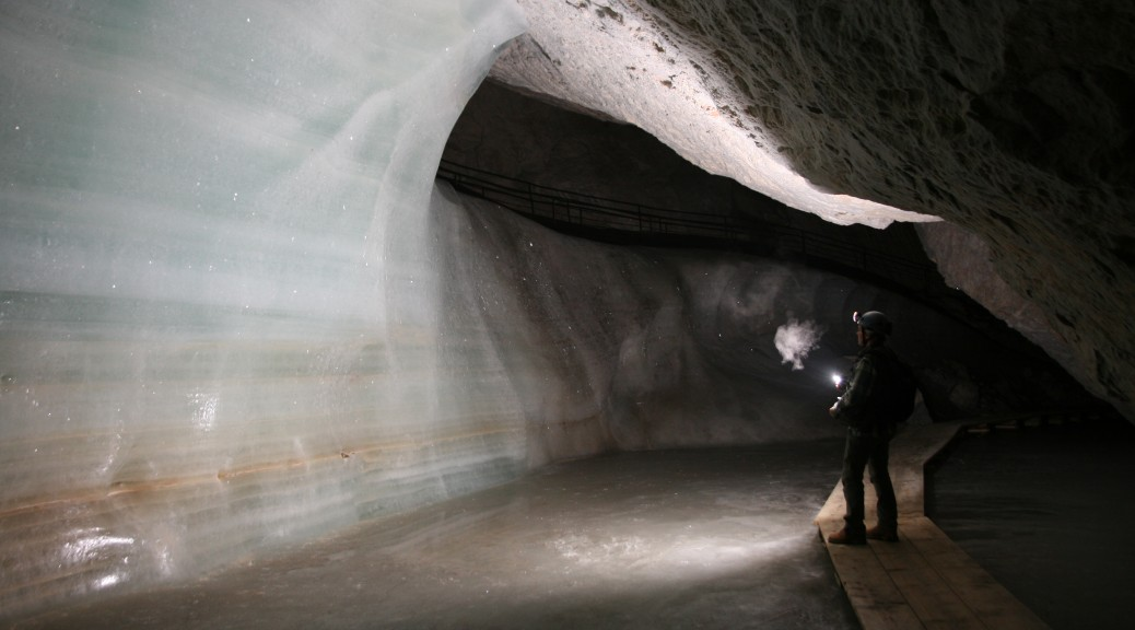 Illuminating. Some cave ice dates back thousands of years. - Nenad Buzjak