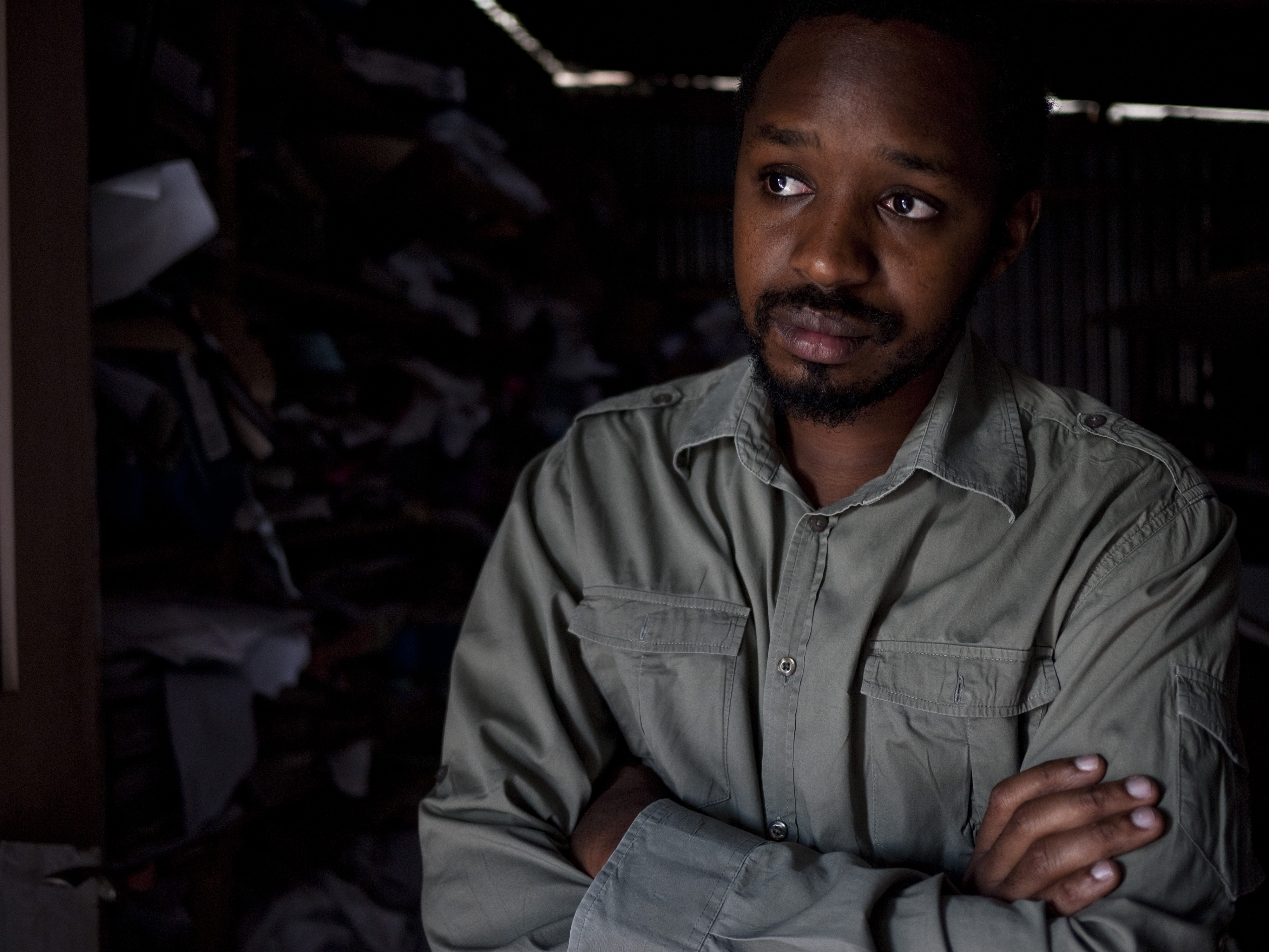 Boniface Mwangi. Photo: Mike Elkin