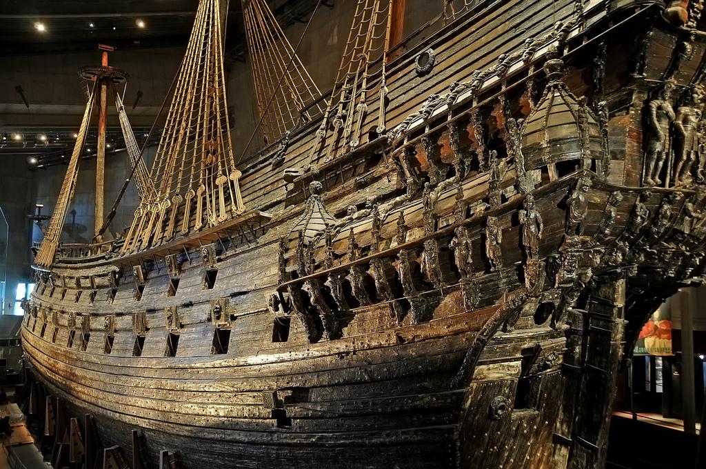 Vasa s curious imbalance lucas laursen for Vasa ship